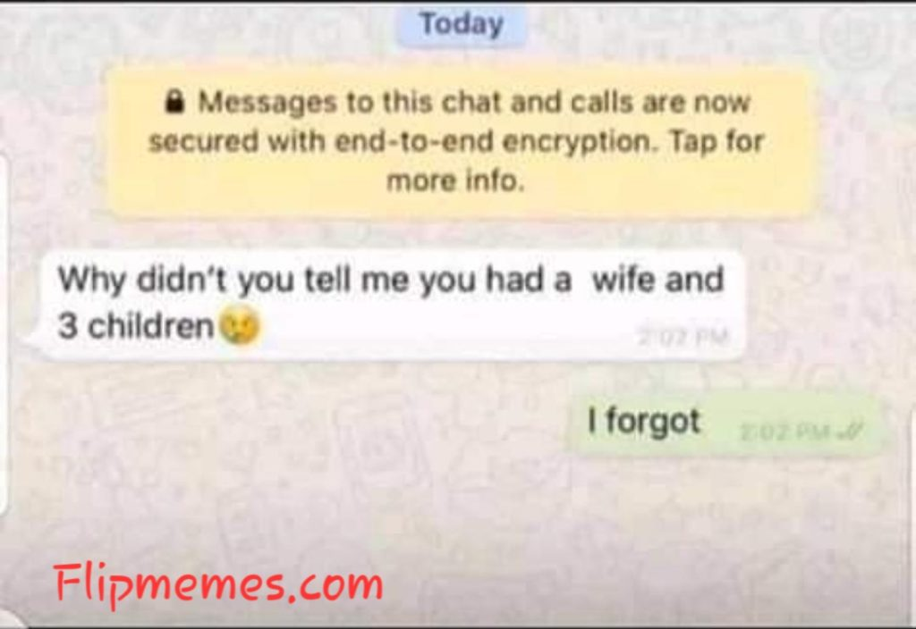 Hilarious WhatsApp conversation screenshot photo meme