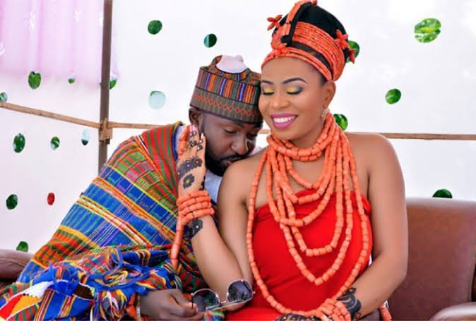 Photo of intertribal marriage